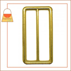 Image of SLD-AA100 : 2 Inch Cast Center Bar Slide, Brass Finish